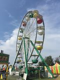 Потеха колодца Ferris стоковое фото