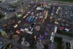 Потеха на изображении трутня масленицы воздушном Стоковое Фото