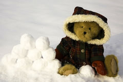 потеха не любит никакой снежок Стоковые Изображения RF