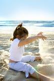 потеха пляжа Стоковое Изображение RF