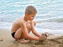 потеха пляжа Стоковые Фотографии RF