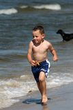 потеха пляжа Стоковые Изображения RF