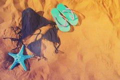 Потеха пляжа лета Стоковая Фотография