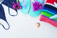 Потеха пляжа лета Стоковая Фотография RF