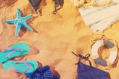 Потеха пляжа лета Стоковое Изображение RF