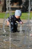 Потеха ребенка лета Стоковая Фотография RF