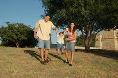 потеха семьи Стоковое фото RF