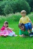 потеха семьи Стоковое Изображение