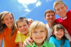 потеха семьи Стоковые Изображения