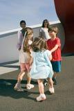 потеха семьи Стоковая Фотография RF