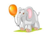 потеха слона Стоковое Фото