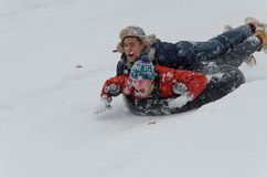 Потеха снега Стоковые Фото
