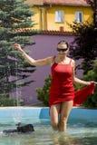 потеха фонтана Стоковые Фото