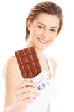 Потеха шоколада Стоковые Изображения