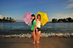 потеха 85 пляжей Стоковые Фотографии RF