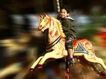 потеха carousel справедливая Стоковое Изображение RF