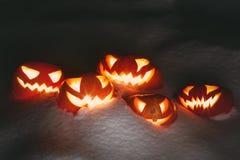 потеха halloween имея обои вектора тыкв малышей иллюстрации подкрашивано Стоковое фото RF