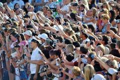 Потехи на фестивале фильмов Стоковая Фотография RF