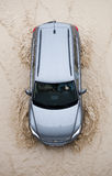 потоки автомобиля стоковое изображение rf