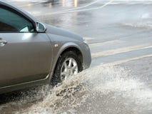 потоки автомобиля Стоковая Фотография