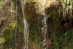 Потоки воды от утесов Стоковые Фото