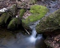 Потоки горы стоковая фотография rf