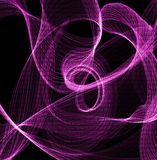Потоки завихряясь binary Стоковое Фото