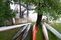 Потоки Праги Стоковое Изображение