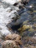 поток весны трещины Стоковая Фотография