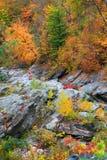 поток воды около Woodstock, Вермонта стоковая фотография