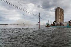 Поток в Гаване, Кубе Стоковые Фото