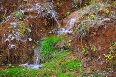 Поток в горах стоковое фото rf