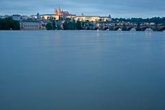 Поток в Праге Стоковые Фотографии RF