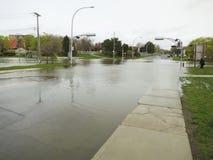 Поток города - Монреаль - Канада стоковое изображение rf