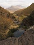 поток горы Африки южный Стоковые Изображения RF