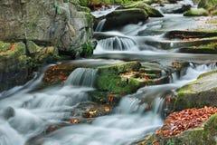 Поток горы в осени Стоковые Фотографии RF