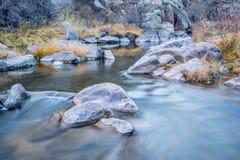 Поток горы в северном Колорадо Стоковое Фото
