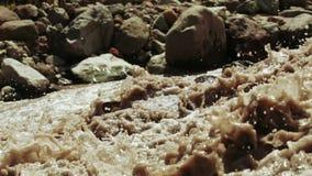 Поток горы в Georgia сток-видео