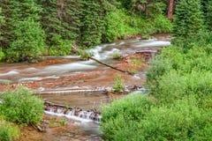 поток горы сценарный Стоковое фото RF