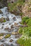 поток горы сценарный Стоковые Фотографии RF