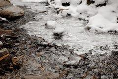 поток горы чисто Стоковая Фотография