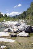 поток горы стоковое фото rf
