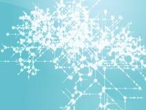 поток информации технический иллюстрация вектора