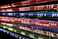 поток информации Стоковые Изображения RF