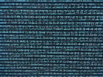 Поток и двоичные числа данных стоковые изображения rf