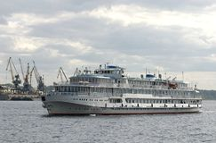 поток корабля Стоковая Фотография RF