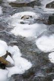 поток льда стоковая фотография rf