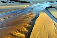 Поток океана стоковые изображения rf