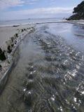 поток океана Стоковая Фотография RF
