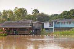 Поток дома в Таиланде Стоковые Фотографии RF